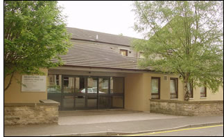 The Bruntsfield Medical Practice front entrance